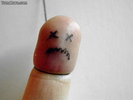 Fingerpuppe