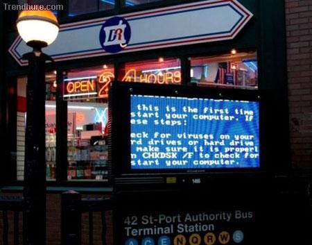 Microsoft Windows Bluescreen