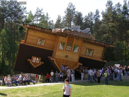 Verrückte Gebäude