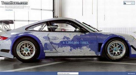 Facebook-Porsche