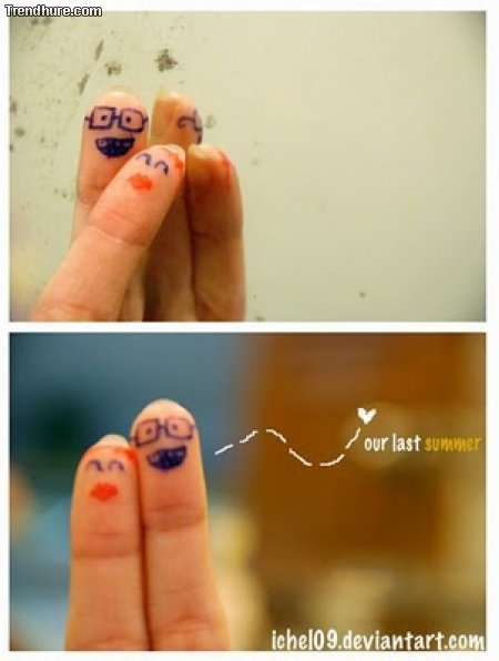 Das geheime Leben der Finger