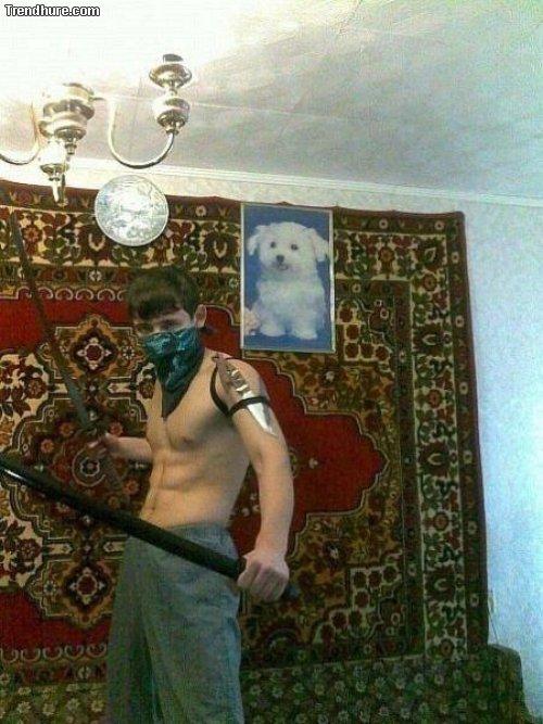 Russische Facebook-Fotos