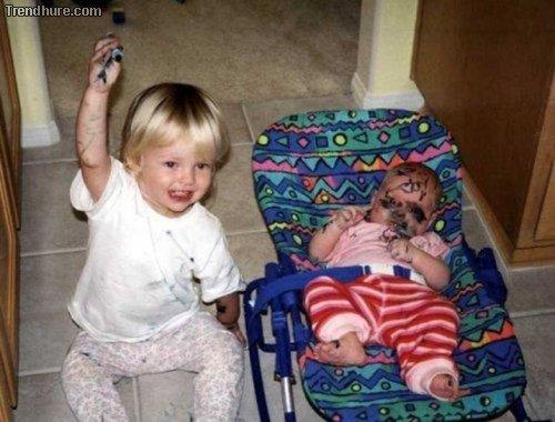 Kinder unbeaufsichtigt