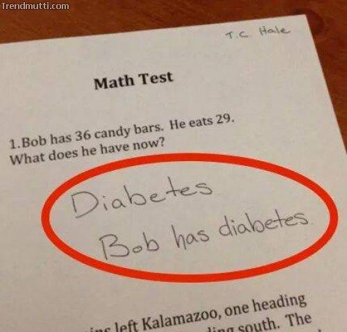 Antworten in Tests