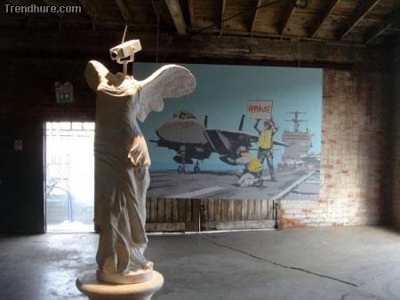 Robert Banksy Graffiti-Art