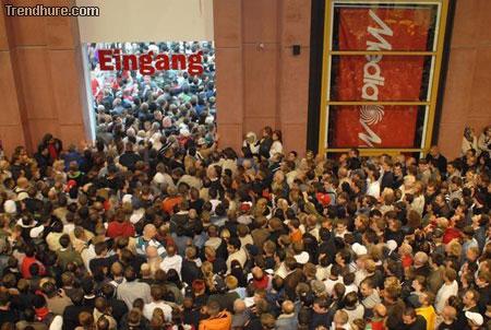 Media-Markt Eröffnung in Berlin