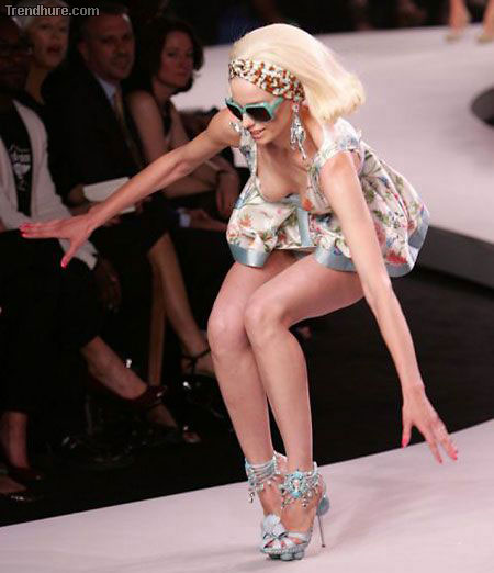 Catwalk Fail