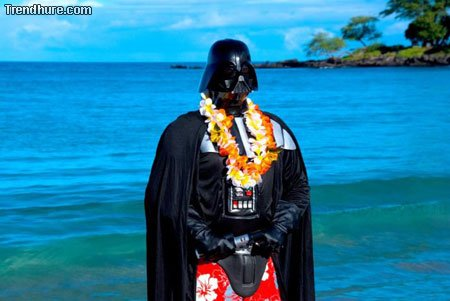 Darth-Vader macht Urlaub