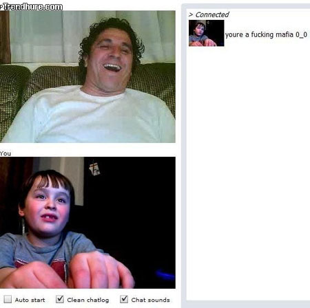 Junger in Chatroulette