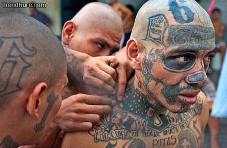 Tattoo im Gesicht