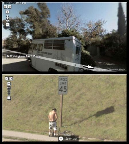 Funny Google Street View