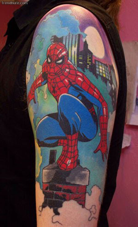 Superhero Tattoo