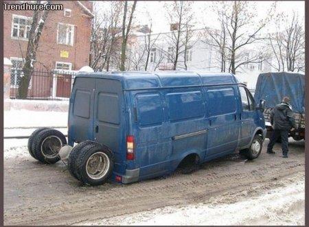 Kuriose Autocrashs