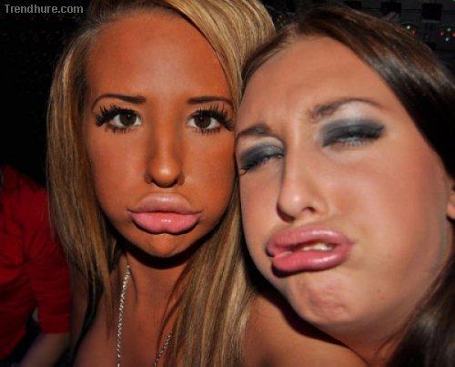Duckfaces