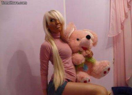 Russische Girls in sozialen Netzwerken