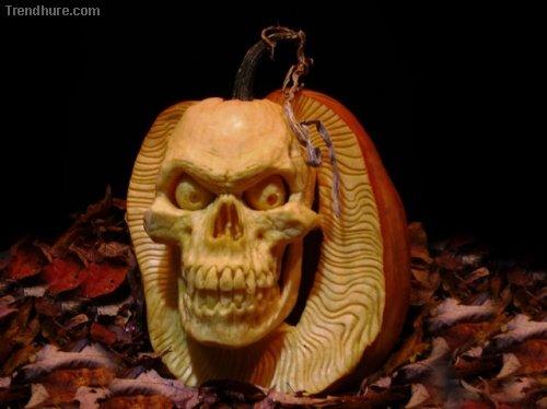 Halloween-Kürbisse