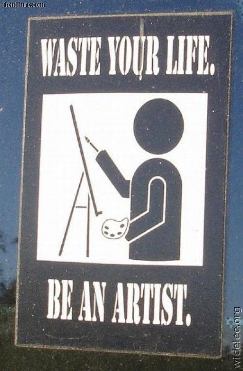 Kuriose Schilder