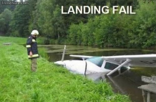 Landungs-Fails