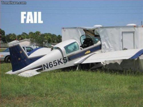 Landungs-Fails