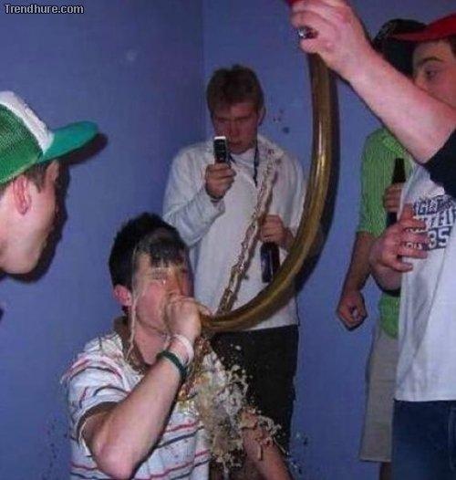Drink verschütten