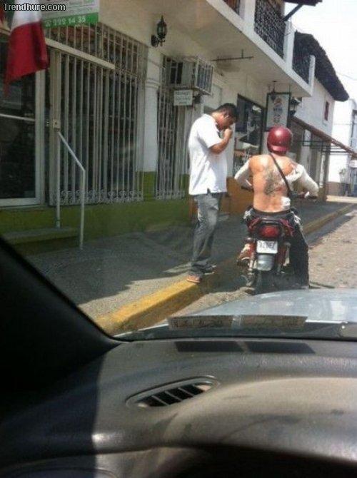 Nur in Südamerika...