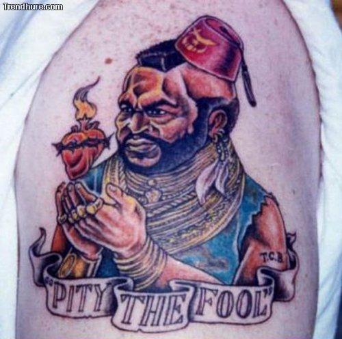 Kuriose und komische Tattoos