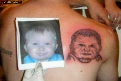 Tattoos von Kindern