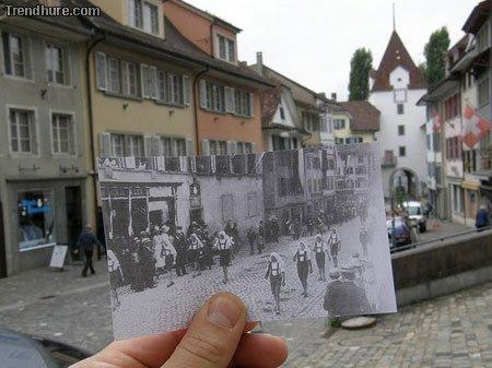 Vergangenheit in der Gegenwart