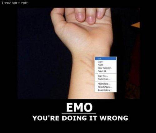 Du machst es falsch...