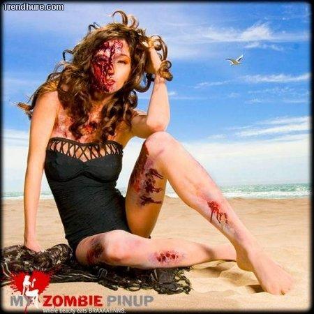 Zombie-Pinups