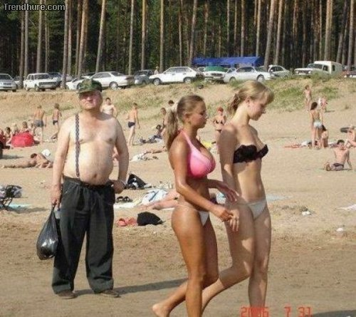 Kuriose Bikini-Fotos