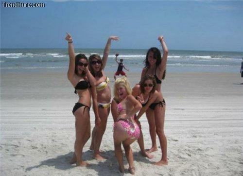 Bikini-Fotos ruinieren