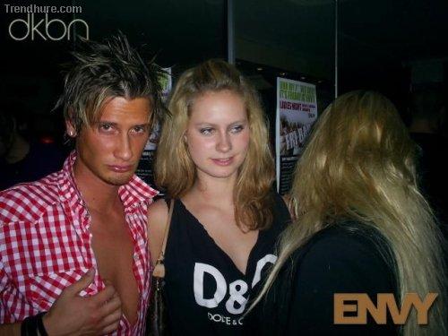 Leute in dänischen Discos