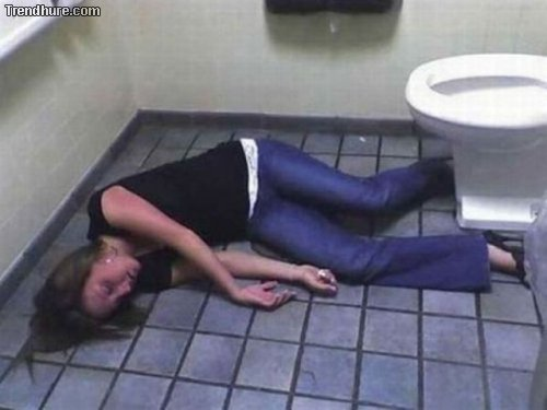 Heftiger Alkoholkonsum