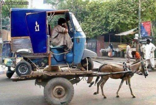 Nur in Indien...