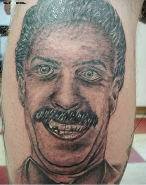 Tolle Porträt-Tattoos