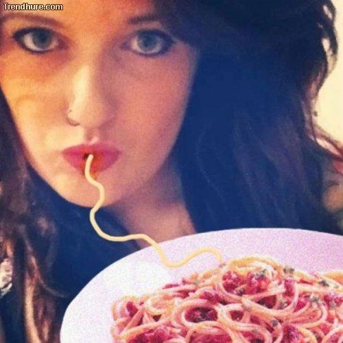 Spaghetti-Duckfaces