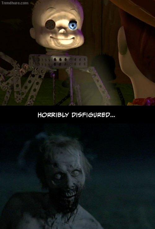 Gemeinsamkeiten zwischen Toy Story und The Walking Dead