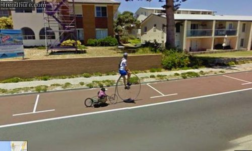 Kuriose Google Street View-Fotos #4