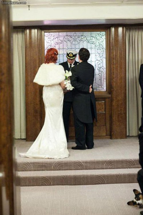 Hochzeits-Fotobomben