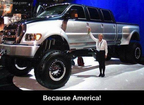 Nur in Amerika