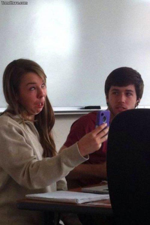 Lustige Selfies