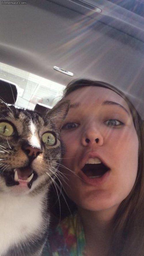 Perfekt getimte Selfies