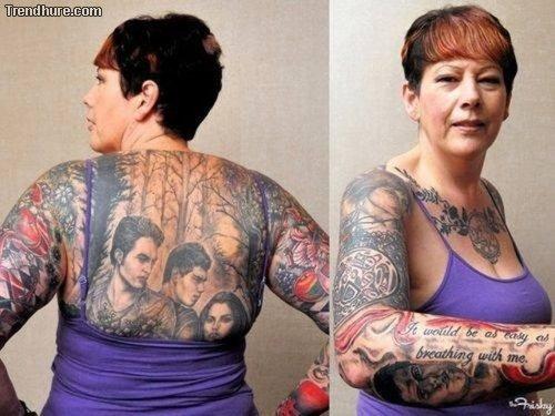 Grauenhafte Tattoos