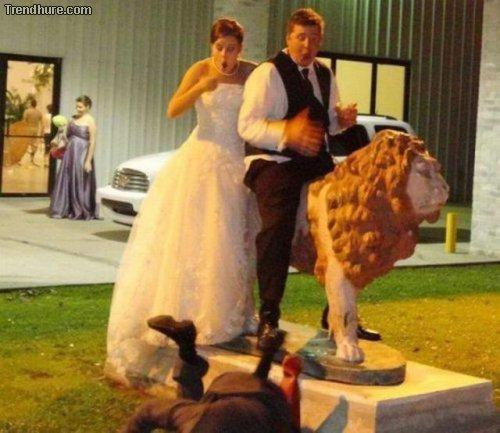 Hochzeitsmomente zerstören