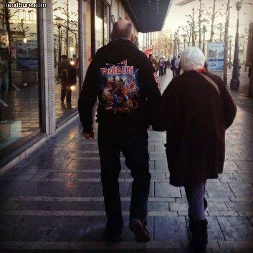 Coole alte Leute