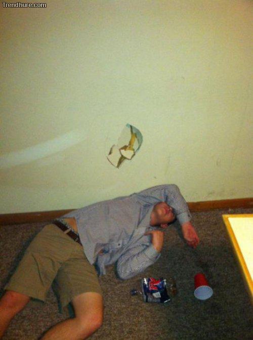 Ein Drink zu viel