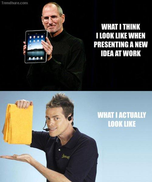 Erwartung vs Realtität