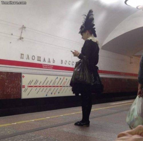 Fashion in Russland