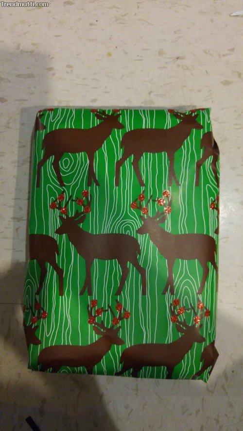 Geschenk richtig und sicher verpacken